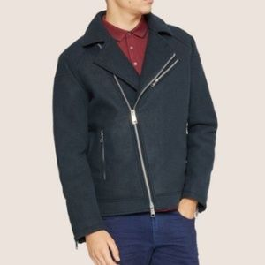 Armani Exchange - Melton Moto Jacket